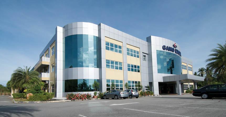 τα γραφεία της gano excel στη Μαλαισία