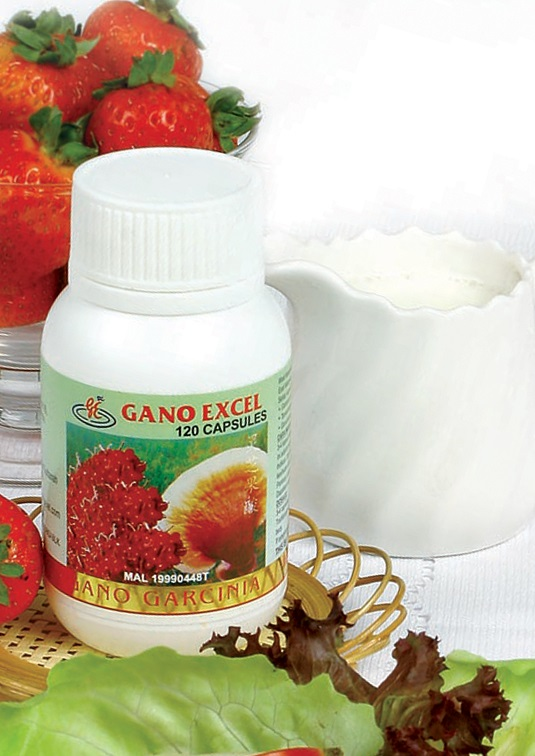 Gano Garcinia: ταμπλέτες garcinia (γκαρσίνια) και ganoderma lucidum (γανόδερμα)