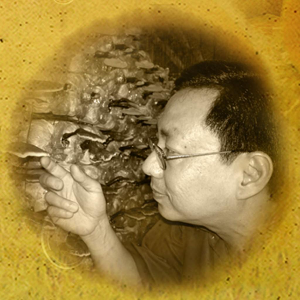 leow soon seng μυκητολόγος και ιδρυτής της gano excel