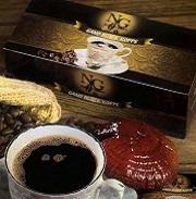 μαύρος καφές με εκχύλισμα ganoderma lucidum (γανόδερμα) της gano excel
