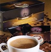 καφές μόκα (mocha) με εκχύλισμα ganoderma lucidum (γανόδερμα) της gano excel