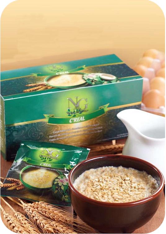 Δημητριακά με Γανόδερμα (ganoderma lucidum), σπιρουλίνα και βρώμη της gano excel